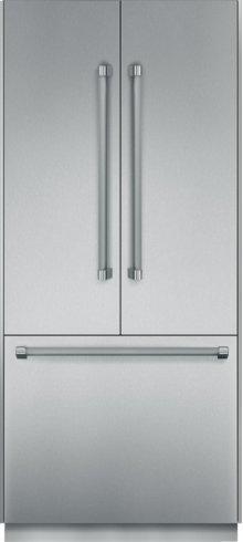 "Thermador 36"" Freedom Refrigeration with Built-In French Door, Bottom Freezer - Floor Model"