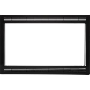 Black 27'' Microwave Trim Kit -