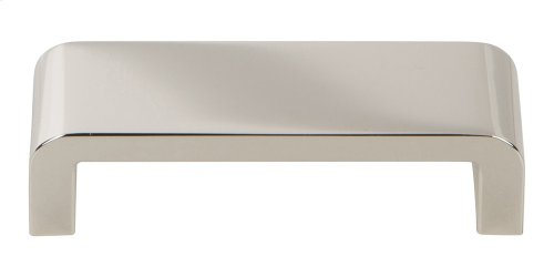 Platform Pull 3 3/4 Inch - Polished Nickel