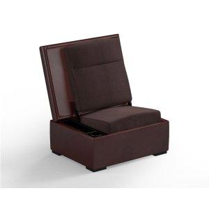Salamander DesignsJumpSeat Ottoman, Hersey Cover / Root Beer Seat