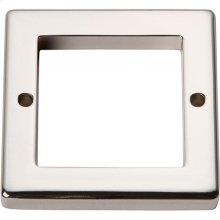 Tableau Square Base 1 13/16 Inch - Polished Nickel