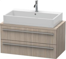 X-large Vanity Unit For Console Compact, Pine Silver (decor)