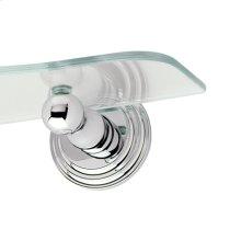 Polished Nickel Toiletry Shelf Brackets