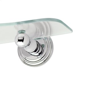 Polished Chrome Toiletry Shelf Brackets