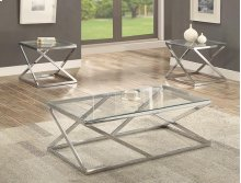 3-pk Chase Cocktail Table Base