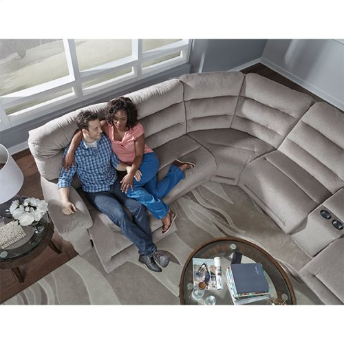 SHELBY SECT. Power Reclining Sofa