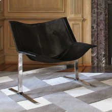 Cantilever Chair-Black Hair-on-Hide