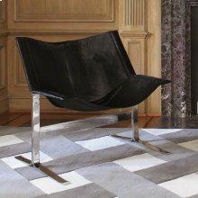 Cantilever Chair-Black Hair-on-Hide