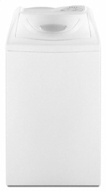 White-on-White Whirlpool® 2.1 cu. ft. Compact Top Load Washer