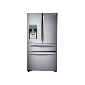 Samsung23 cu. ft. Counter Depth 4-Door Refrigerator with FlexZone™ Drawer in Stainless Steel
