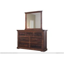 Madeira Dresser and Mirror