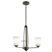 Tao Collection Tao 3 Light Chandelier OZ