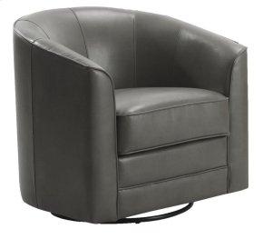 Emerald Home Milo Swivel Chair Light Grey U5029c-04-03