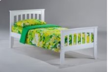 Sasparilla Bed in White Finish