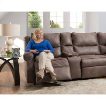 Wall Proximity Recliner Power Recline/Power Headrest w/Wand