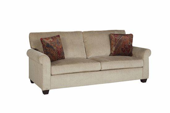 Sofa   Beige Chenille Finish