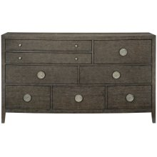 Linea Dresser in Cerused Charcoal (384)