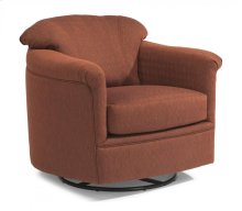 Lombard Fabric Swivel Glider