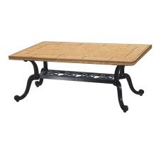 "Paradise 24"" x 44"" Rectangular Coffee Table Base - Grand Terrace"
