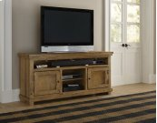 """64\"""" Console - Distressed Pine Finish"""