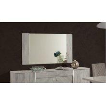 Nova Domus Alexa Italian Modern Grey Buffet Mirror