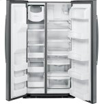 GE Profile Series Energy Star® 25.3 Cu. Ft. Side-By-Side Refrigerator