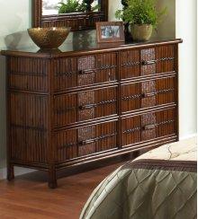 Tahiti Six Drawer Dresser