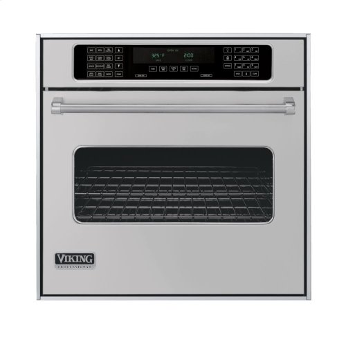 """Metallic Silver 30"""" Single Electric Touch Control Premiere Oven - VESO (30"""" Wide Single Electric Touch Control Premiere Oven)"""