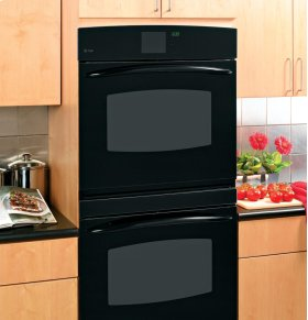 """GE Profile 30"""" Built-In Double Convection Wall Oven"""