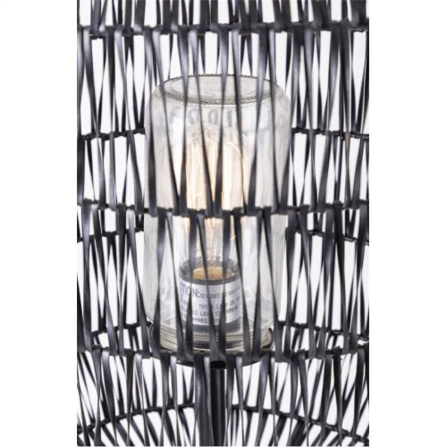 Turin Outdoor Woven Floor Lamp