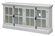 Coventry White Oak Finish 4 Door Media Console Product Image