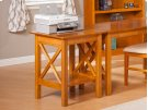 Lexi Printer Stand in Caramel Latte Product Image