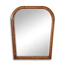 Art Nouveau Floral Mirror (Plain Mirror Glass)
