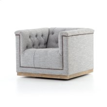 Manor Grey Cover Maxx Swivel Chair
