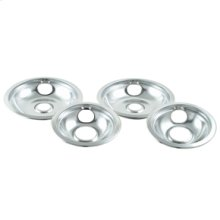 Replacement Burner Bowls - Chrome - 4 Pack(Oven & Range)