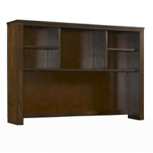 "Landon ""Antique Walnut"" ""X"" Design Hutch"