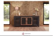 """80"""" TV Stand w/4 doors & Shelves Product Image"""