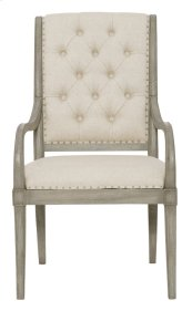 Marquesa Arm Chair in Marquesa Gray Cashmere (359)