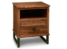 Cumberland 1 Drawer Nightstand with Power Management