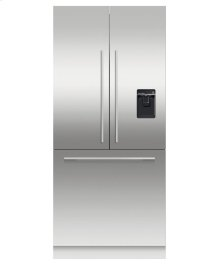 """ActiveSmart Refrigerator 36"""" French Door Integrated with ice & water - 80"""" / 84"""" Tall"""