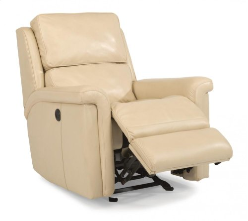 Tosha Leather or Fabric Power Gliding Recliner