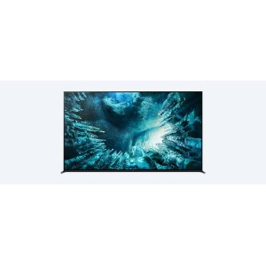 SonyZ8H  Full Array LED  8K  High Dynamic Range (HDR)  Smart TV (Android TV)