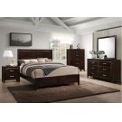 1006 Agathis King Bed with Dresser & Mirror Product Image