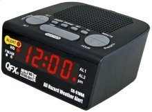 All Hazard Weather Alert Clock Radio