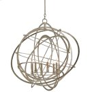 Genesis Silver Orb Chandelier Product Image