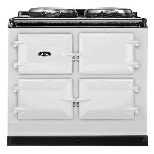 White AGA Dual Control 3-Oven Natural Gas