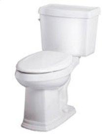 "White Allerton 1.28 Gpf 12"" Rough-in Two-piece Elongated Ergoheight Toilet"