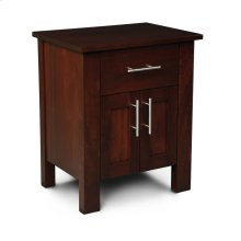 East Village Nightstand with Doors