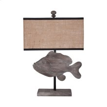 Wooden Fish Lamp