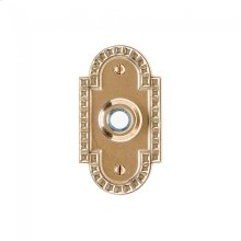 Corbel Arched Doorbell Button Silicon Bronze Brushed